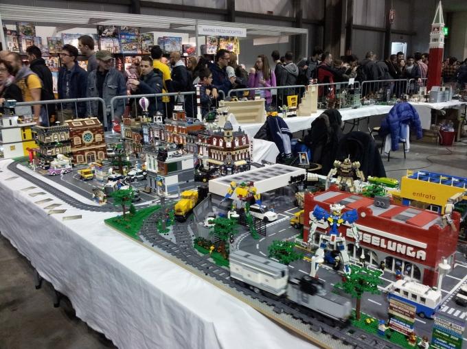 lego e robottoni